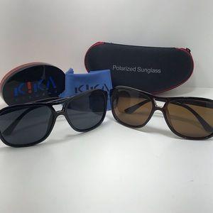 2 for 1 Summer Sale Mens Kika Eyewear Black&Brown